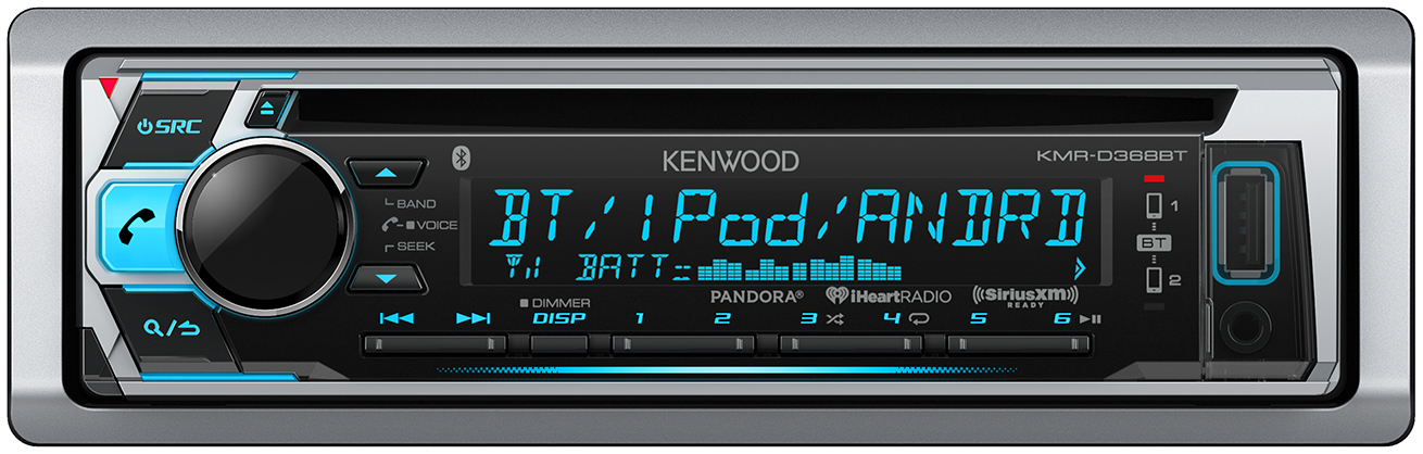 Kenwood KMR-D368BT