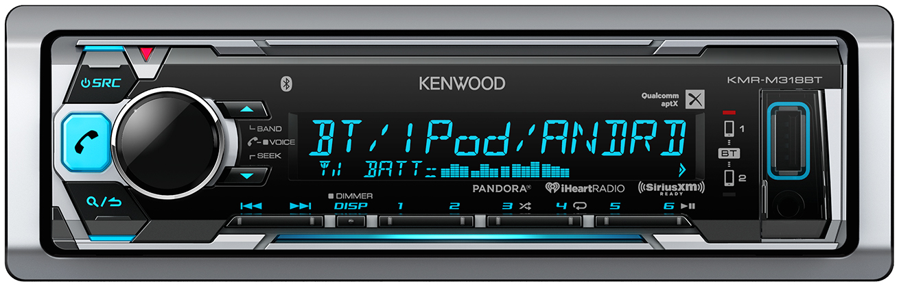 Kenwood KMR-M318BT