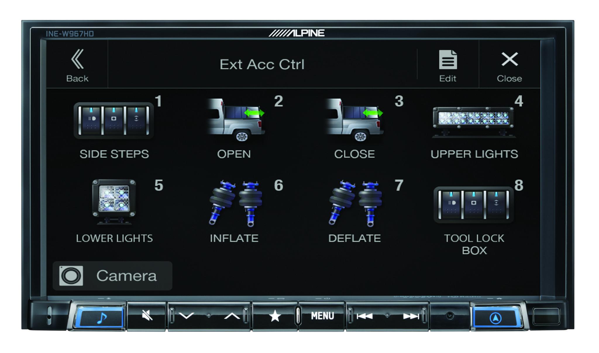 Alpine INE-W967HD