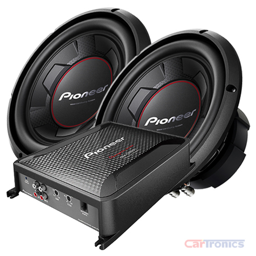 Pioneer (2) TS-W256R & GM-D8601 Package