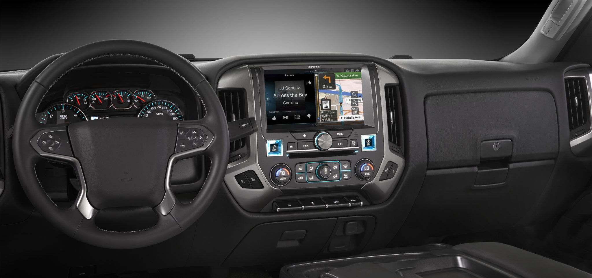 Alpine Restyle In-dash Navigation System for 2014  Chevrolet Silverado