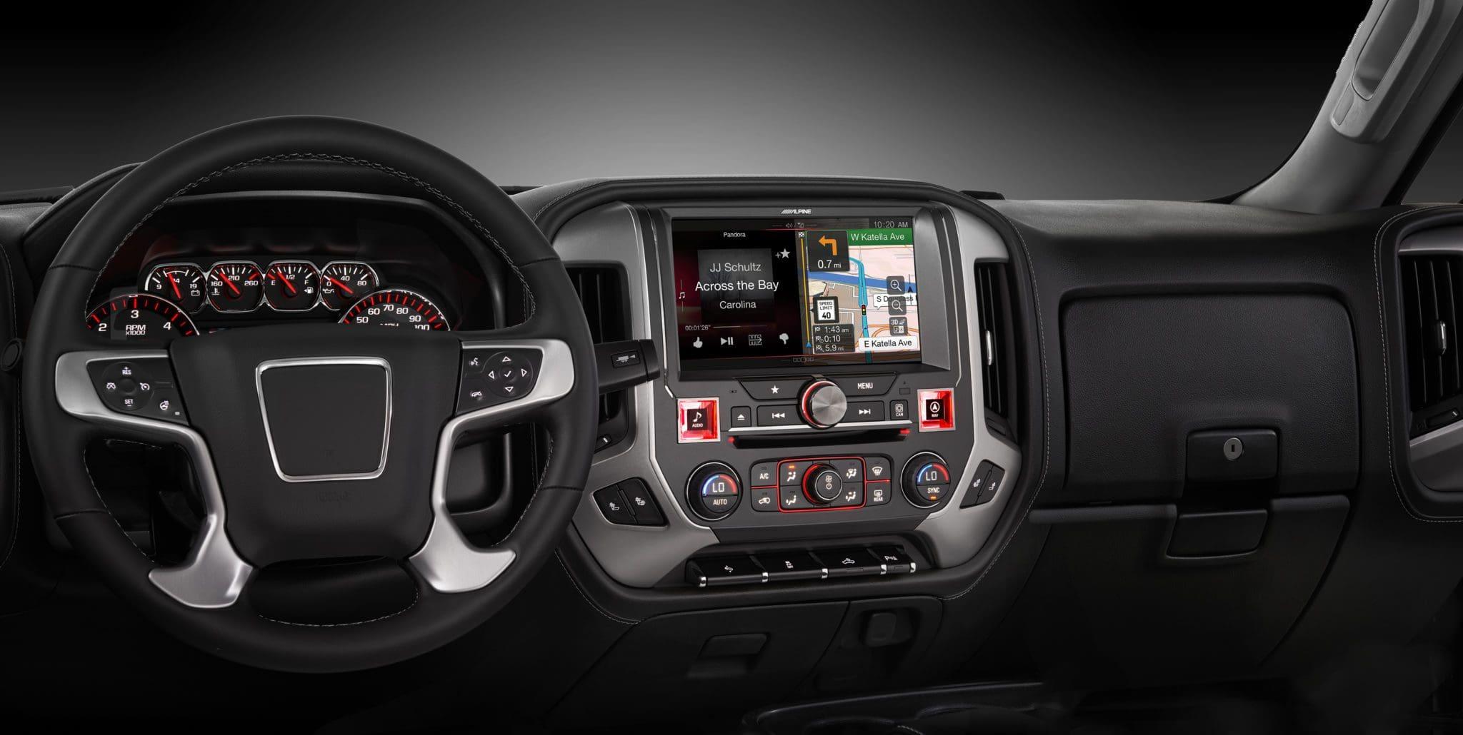 Alpine Restyle In-dash Navigation System for 2014  GMC Sierra
