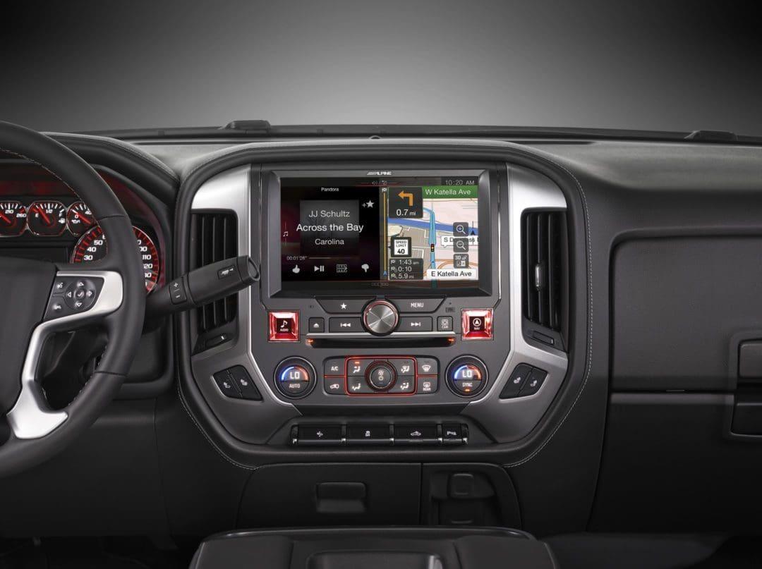 Alpine Restyle In-dash Navigation System for 2014 GMC ...