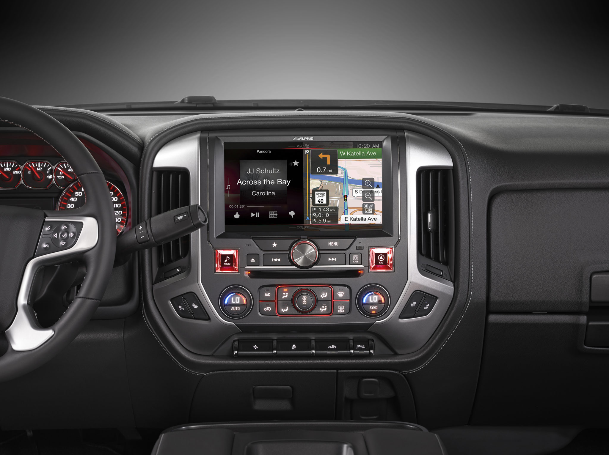Alpine Restyle In Dash Navigation System For 2014 Gmc