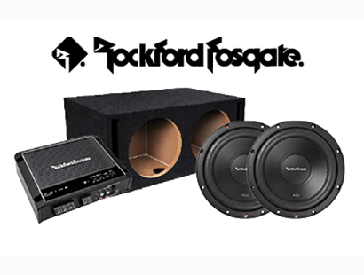 Rockford Bass Package